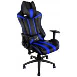 игровое компьютерное кресло Aerocool AC120 AIR-BB, черно-синее