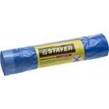 мешки для мусора Stayer Comfort завязками, 30л, 20шт голубые