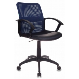 компьютерное кресло Бюрократ CH-590, сине-черное