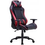 игровое компьютерное кресло Tesoro Zone Balance черно-красное