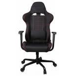 игровое компьютерное кресло Бюрократ 771/Black+BL, чёрное