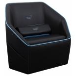 игровое компьютерное кресло Aerocool P7-CH1 AIR, черно-синее