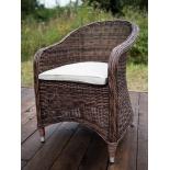 кресло садовое 4sis Равенна темно-коричневое