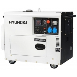 электрогенератор Hyundai DHY-6000 SE, белый