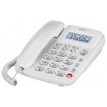 проводной телефон teXet TX-250, белый