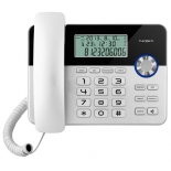 проводной телефон teXet TX-259, белый