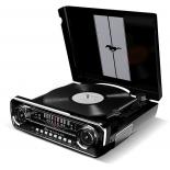 проигрыватель винила Ion Audio Mustang LP, черный