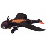 игрушка мягкая Spin Master Dragons Беззубик плюшевый 25 см, запускается и летит