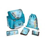 товар для детей Ранец Scooli Fairies, голубой с рисунком