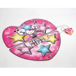 детский коврик Танцевальный коврик Hello Kitty, 104 см