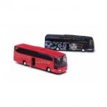товар для детей Модель автобуса Welly Mercedes-Benz красная/чёрная