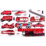 товар для детей Welly Пожарная служба, 20 предметов