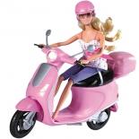 кукла Simba, Штеффи на скутере, 29 см