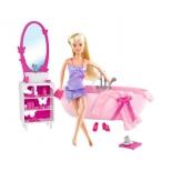 кукла Simba Штеффи в ванной комнате, с аксессуарами
