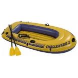 лодка надувная Intex  Челенджер 68367 (двухместная)