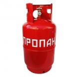 баллон газовый бытовой Б 12 Л, красный