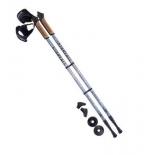 палки для скандинавской ходьбы Berger Starfall (77-135 см), серо-чёрно-белые