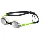 очки плавательные Cobra Mirror 92354 50, дым-серебристо-зеленые