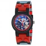 часы наручные LEGO 8020301 Star Wars Darth Vader (с минифигурой)