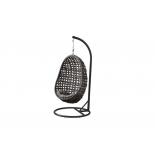 кресло плетёное 4SiS Флоренция, темно-коричневое