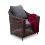 кресло плетёное 4SiS Кон Панна, brown