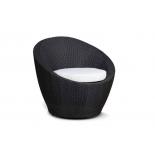 кресло плетёное 4SiS Туллон, черное