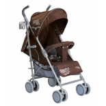 коляска Liko Baby BT109 City Style, коричневая