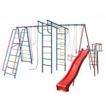 игровой комплекс Вертикаль А1+П дачный МАКСИ с горкой 3,0 м и дополнение Моряк