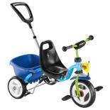 Трехколесный велосипед Puky 2223 CAT 1S, синий/киви