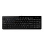 клавиатура Delux OM-01 USB, черная