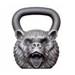 гиря Iron head, Медведь, 32 кг