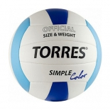 мяч волейбольный Torres Simple Color V30115 (размер 5)