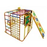 спортивный комплекс Формула здоровья Кубик У Плюс, оранжевый-радуга