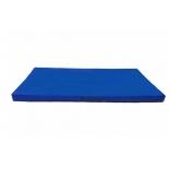 мат гимнастический Perfetto Sport № 9, сине-жёлтый