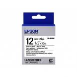 аксессуар к принтеру Epson LK-4WBW (C53S654016), термотрансферная лента, черное на белом
