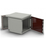 телекоммуникационный шкаф NT Wallbox IP55 plus 12-66 G, серый