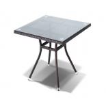 стол садовый 4sis YH-S4716W Корто,  серо- коричневый