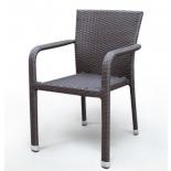 стул садовый Afina A2001B-AD69, коричневый
