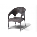 стул садовый 4sis YH-C1739W  Корретто, без подушки, коричневый