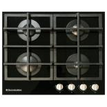 Варочная поверхность Electronicsdeluxe GG4 750229F - 012, черное стекло