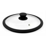 крышка для посуды TimA 4828BL (28см) черная