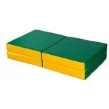 мат гимнастический КМС № 11, зелёно-жёлтый