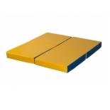мат гимнастический КМС № 11, сине-жёлтый