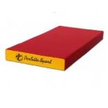 мат гимнастический Perfetto Sport № 1 красно-жёлтый