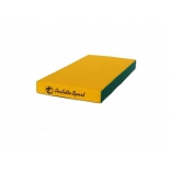 мат гимнастический Perfetto Sport № 1  green-yellow