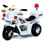 товар для детей Электромобиль RiverToys Moto 998, белый