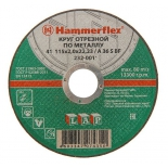 диск отрезной Hammer Flex 232-001 (115 x 2.0 x 22,23 A 36 S BF)