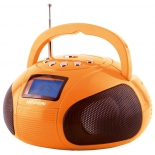 магнитола  Hyundai H-PAS120, оранжевая