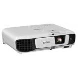 Мультимедиа-проектор Epson EB-W41, белый, купить за 35 710руб.