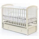 детская кроватка Fiorellino Tina, слоновая кость
